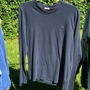 Abercrombie Fitch long sleeve navy tee